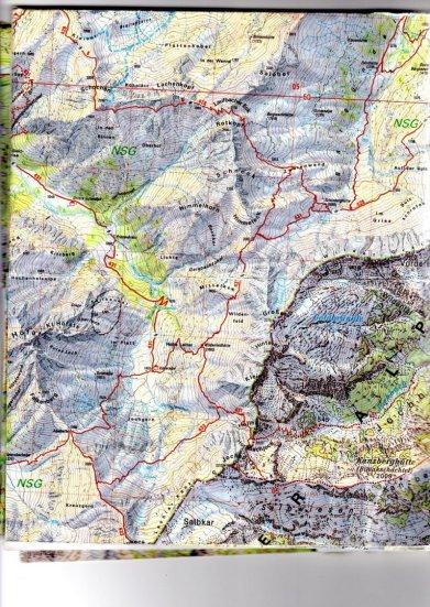 Karte Seilhenker