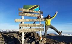 Alpine Welten: Kilimandscharotour -  Gipfelerfolg am 13.10.2020