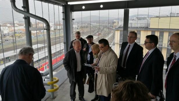 """Enquete Kommission """"Gleichwertige Lebensverhältnisse"""" des Bayerischen Landtags / Unterwegs am Untermain"""