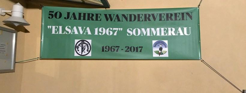 Wanderverein Sommerau 50 Jahre