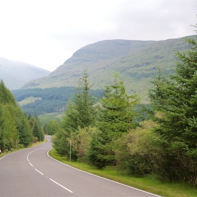 A85 to Loch Lomond