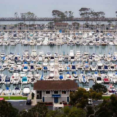 Dana West Marina, California
