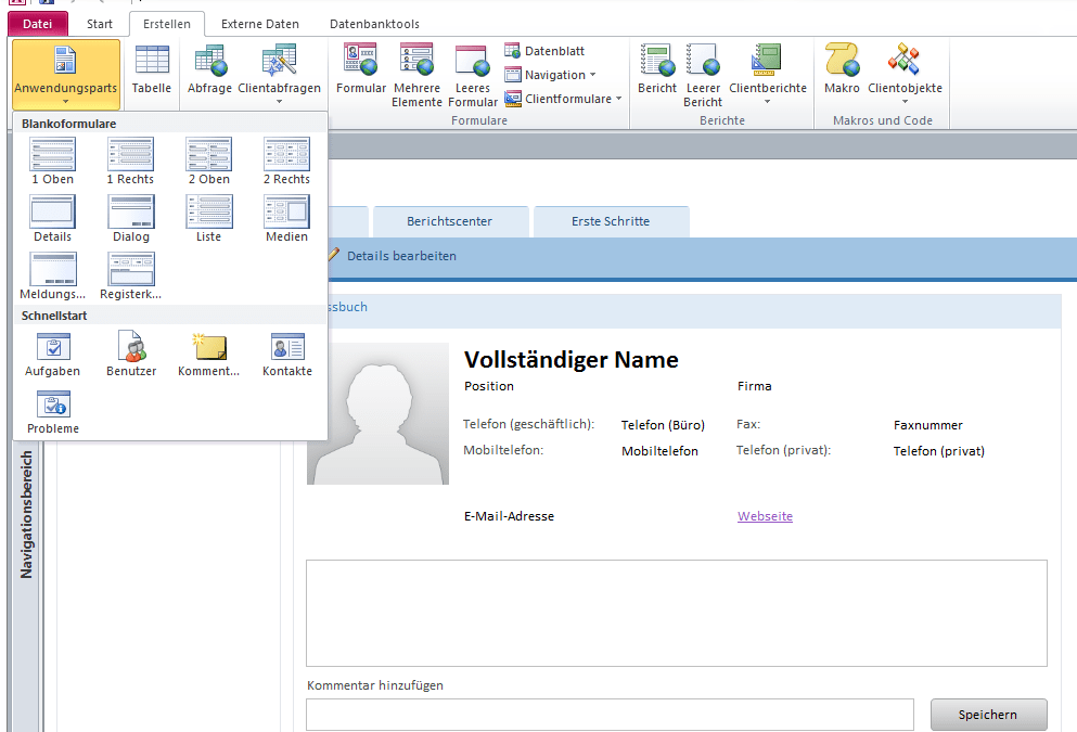 Access Services und SharePoint 2010 im Detail