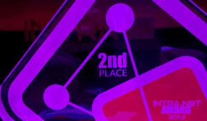 Zweiter Platz und ein Intra.NET Award für uns