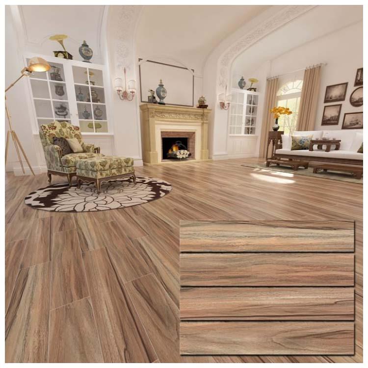 brown glazed ceramic floor tile