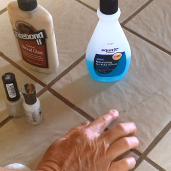how to fix broken tile without replacing