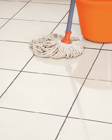 restore shine of floor tiles ceramic