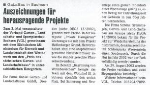 Dega Newsletter 34KW, 2003