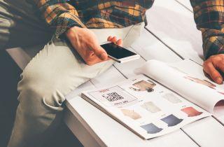 QR Code catalog shopping