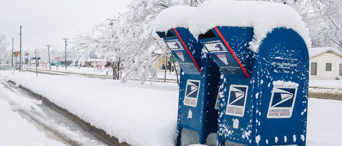 USPS mail boxes