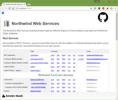 Northwind - ServiceStack style