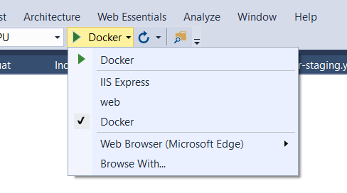 Docker in VS