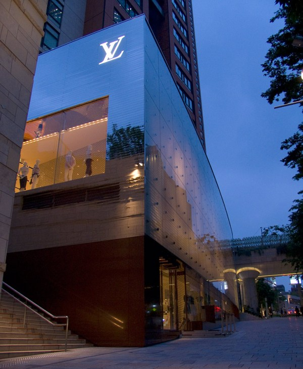 Louis Vuitton flagship store Roppongi Hills in Tokyo