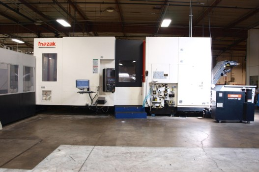 Aerospace CNC Machining in Southern California - Horizontal Nexus 8800-II