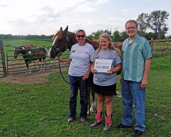 QUEST Stables GIVE BACK Donation | Hansen-Spear Funeral Home - Quincy, Illinois