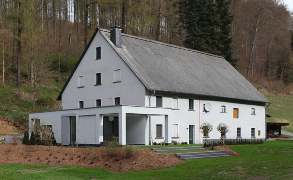 Anbau an ein Bauernhaus