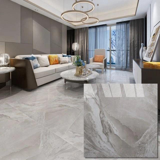 cheap light gray porcelain floor tile