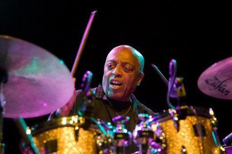 Roy Haynes tijdens North Sea Jazz 2009 Canon EOS-1D Mark III • ISO 3200 • f/3.2 • 1/60 @ 95mm. © Hans Speekenbrink.