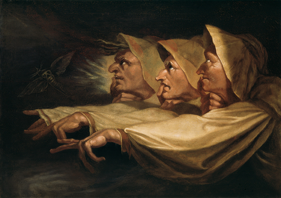 J.H. Füssli, De drie heksen, 1783