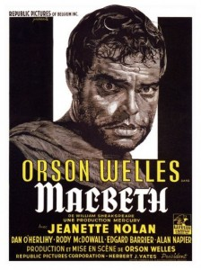 macbeth affiche film orson welles