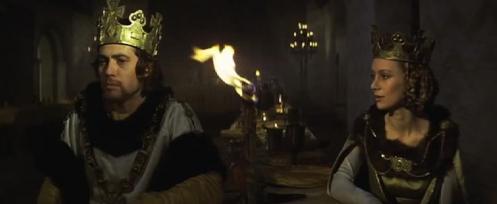Jon Finch en Francesca Annis regie Roman Polanski, 1971