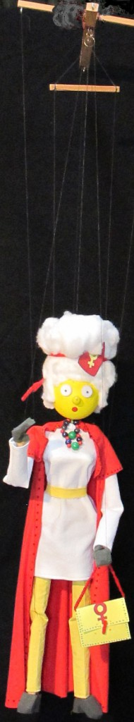 a bericht klaziena marionet hand