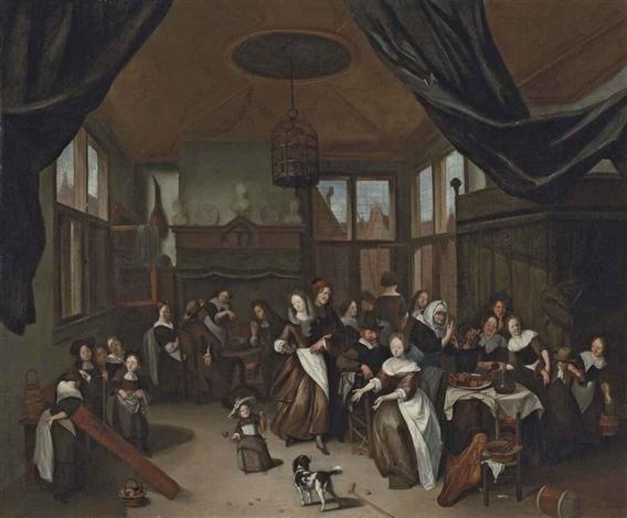 ALTERN TEKST Richard Brakenburg, Het Sint Nicolaasfeest onbekend