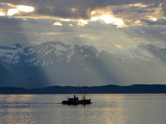 Work boat in Southeast Alaska