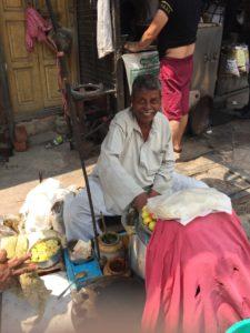 Delhi Street Food Vendor
