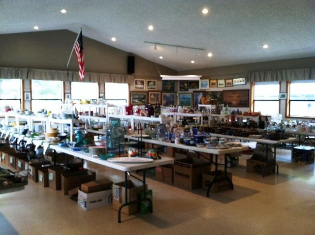 rummage sale kitchen