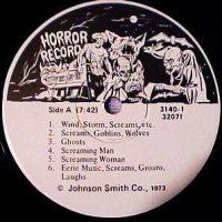 Johnson Smith Novelty Company Horror Record
