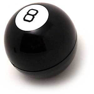 The Outer Shell of the Magic 8 Ball