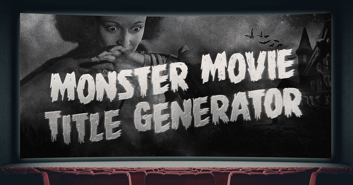 Monster Movie Title Generator - Hanttula