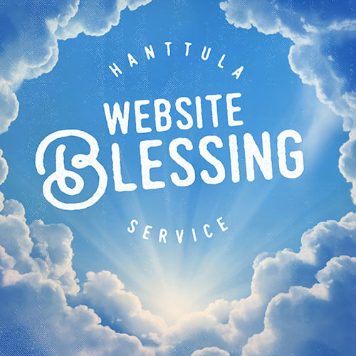 Hanttula Website Blessing Service