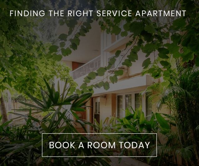 FINDING THE RIGHT SERVICE APARTMENT