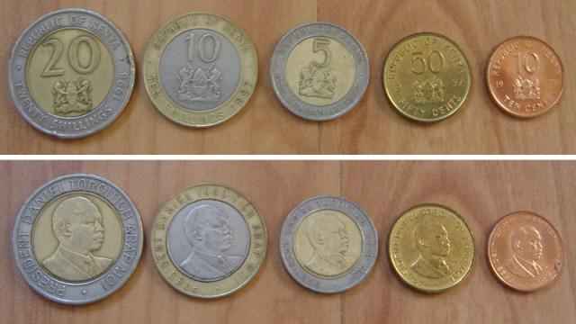 Kenyan coins