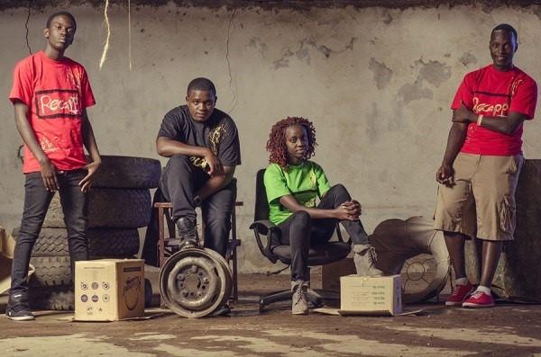 Emmanuel Mwongela , Nelly Tuikong, Edward Obura and Tedd Askoye .