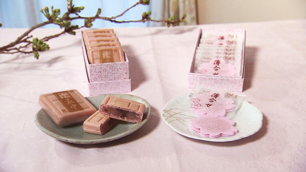 さくらを味わえる上品な和菓子「卍最中・桜」&「桜薄合せ」
