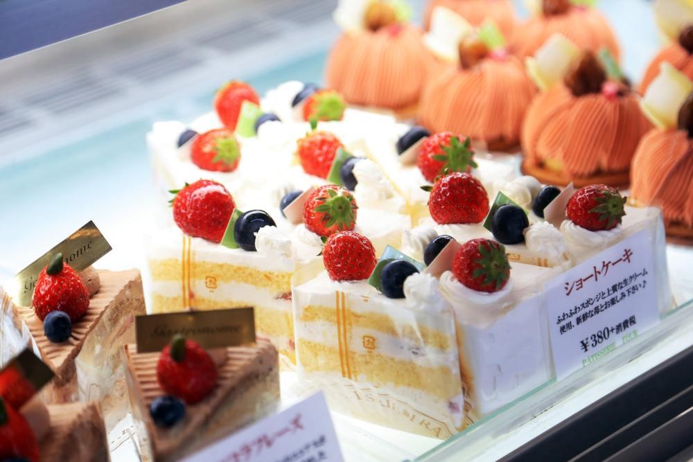 種類豊富なケーキ