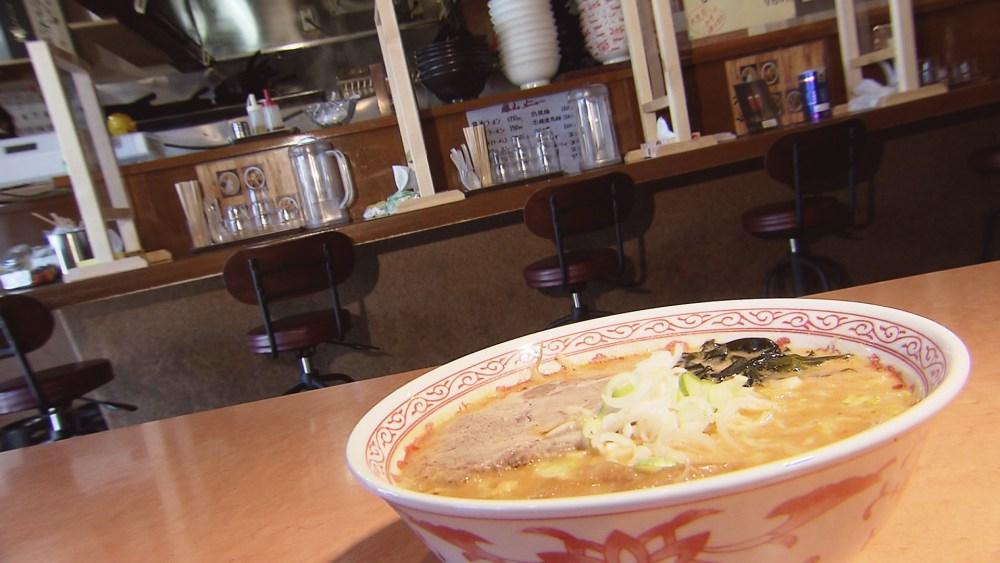 地元平川市のネギと『大光寺みそ』を使った「味噌ラーメン」