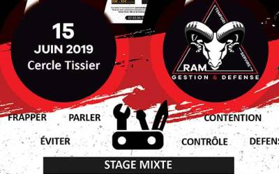 Stage de Protection Personnelle du 15/06/2019