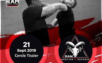 Premier Stage de Protection Personnelle de la saison le 21/09/2019