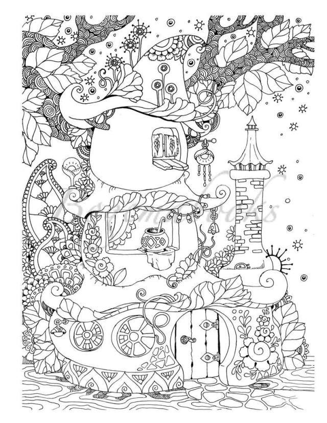 16 Adult Coloring Pages That Are Printable and Fun - Happier Human