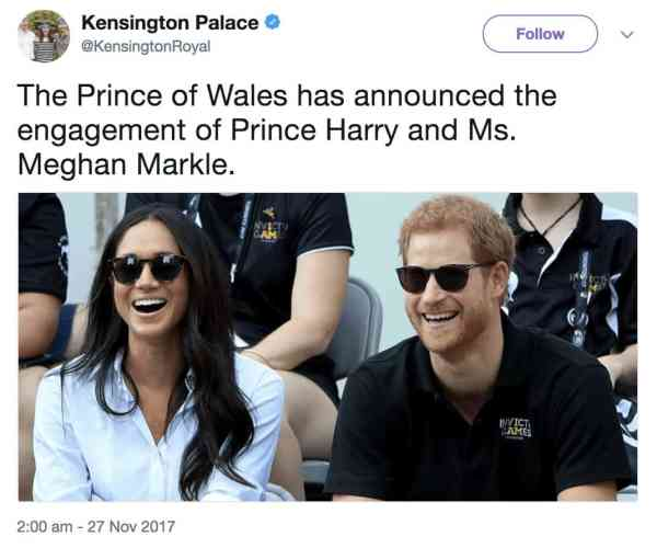 Prince Harry And Meghan Markle Are Getting Married!