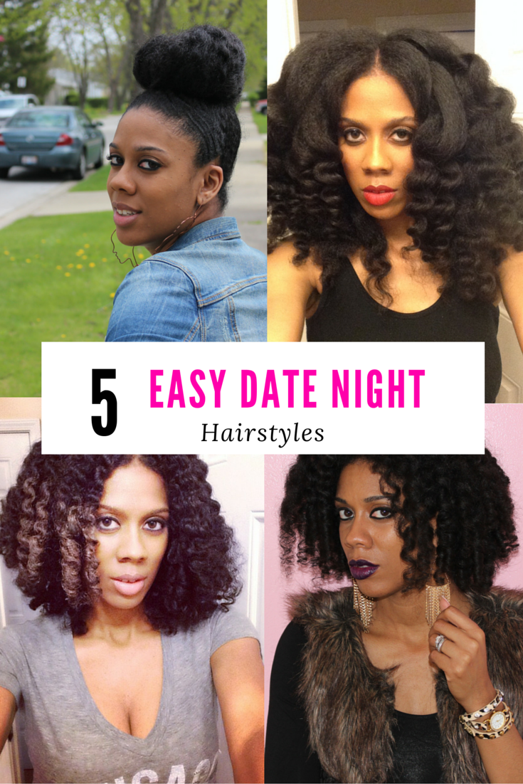 5 Easy Date Night Hairstyles