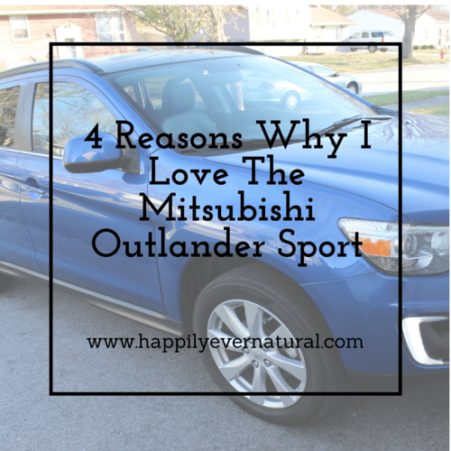 4 reasons why I love The Mitsubishi Outlander Sport