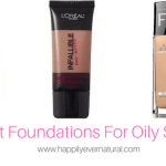 5 Great Foundations For Oily Skin