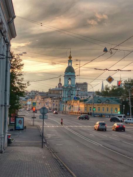 Moscow churh