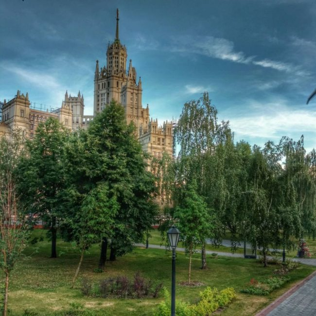 Moscow soviet building