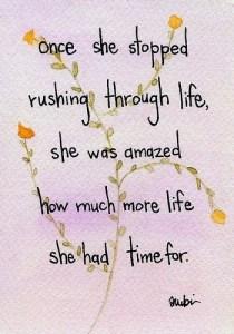 rushing-through-life